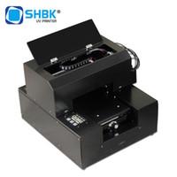 Stampanti SHBK Completamente automatico Stampante UV in rilievo in rilievo A4 Piccola stampa piatta con shell mobile cuoio acrilico