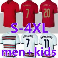 Ronaldo Fußball-Trikots Joao Felix 2020 2021 Finale Football Hemd 20 21 Männer + Kinder Sets Uniform Camisa de Futebol Maillot de Foot