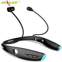 Headsets Zealot H1 Спортивные наушники Беспроводные Bluetooth Наушники работает Водонепроницаемая гарнитура с микрофоном для телефонов