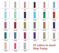 UPS! 27 Colors 20oz Stainless Steel Skinny Tumbler With Stra...