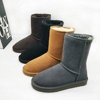 Avustralya WGG Erkek Çizmeler Ayak Bileği Çizmeler Kadın Kar Botları Kış Ayakkabı Bottes Chuteiras Avustralie Kadınlar için