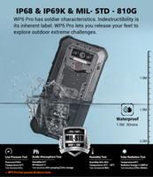 Oukitel WP5 Pro IP68 Su Geçirmez Smartphone 8000 mAh Üçlü Kamera Yüz / Parmak İzi Kilidini Android 10 5.5 inç 4 GB 64 GB Mobil