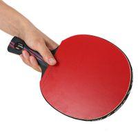 Vente en gros-boer léger tennis de table de ping-pong Racket Paddle manche courte manche longue raquettes de ping-pong Paddle de tennis de table Racket