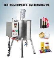 Çikolata Crayon El yapımı Sabun Fillier için Hopper Isıtıcı Tank Sıcak Karıştırma ile Kapasite 15L Ruj Isıtma karıştırma Dolum Makinesi Dolum