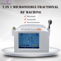 rf face and body machine micro needle fractional rf skin car...