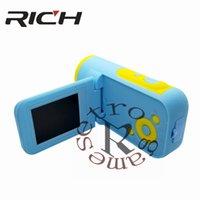 كاميرات الفيديو DHL 20 قطعة / الوحدة 2 بوصة الشاشة hd الأطفال الكاميرا الرقمية لغز dv اللون الكرتون الاطفال مسجل فيديو