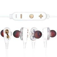جديد G23 سماعة لاسلكية إلغاء الضوضاء سماعات داخل الأذن مع مايكروفون بلوتوث v5.0 + edr لجميع الهاتف الرقبة ستيريو الرياضة سماعة الأذن سماعة