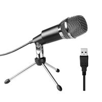 ميكروفونات USB ميكروفون، Play Play Home Condenser Microphone for Skype، التسجيلات YouTube، Google Voice Search، الألعاب (WI
