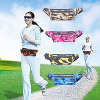 Running Waistpacks Camouflage sports pack phone purse pocket...