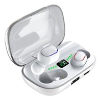 Nuova T11 TWS Cuffie wireless Bluetooth 5.0 auricolari in-ear 3300mAh Charging Bin Auricolari stereo IPX7 Sport Auricolare impermeabile