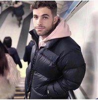 2020 Mens вниз Стилист пальто Parka Зимняя куртка Мужчины Женщины Зима перо Шинель куртка вниз пальто куртки Размер M-XXL