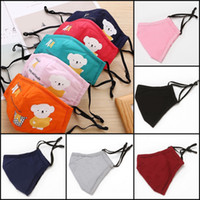50pcs DHL Kids Cute Cartoon Cotton Cloth PM2. 5 Washable Anti...