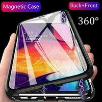 Doppelseitige magnetische Adsorption Voller Schutzhülle Abdeckung für iPhone 11 Pro max 7 8 Plus für iPhone SE 2020