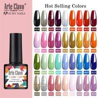 Arte Clavo 8ml гель лак для ногтей Ногти Shiny Color Soak Off UV Gel лак Semi Permanant UV Nail Art Потребность Led лампы Top Coat