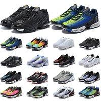جودة عالية tn بلس 3 الثالث ضبط الاحذية الرجال النساء chaussures الثلاثي الأبيض أسود hyper الأزرق og النيون رجل إمرأة أحذية رياضية