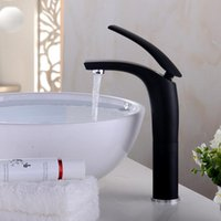 BECOLA أبيض أسود أحمر اللون حوض صنبور المياه الحنفية حمام الحنفية الصلبة براس واحدة مقبض الحنفية خلاط المياه تغرق