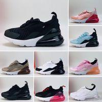 270 Riginal 아동 스포츠 트레이너 패션 어린이 KIDS 신발은 저렴한 새로운 소년 소녀 레이스 업이 방송 돼지 스니커즈 EUR22-35 신발을 실행