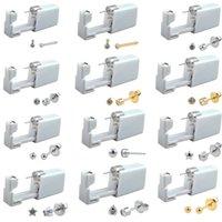 24pcs Disposable Sterile Ear Piercing Unit Cartilage Tragus Helix Piercing Gun Tool Kit Stud Earring Star Ball 200921