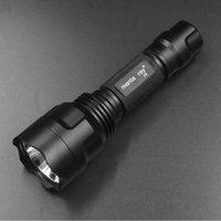 C8 taşınabilir SST40 led meşale LUMINUS SST40.2 su geçirmez alüminyum AMC7135 sürücüsü açık kamp lanterna