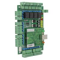 Fingerabdruck-Zugangskontrolle Vier Door Network Panel Board mit Software-Kommunikationsprotokoll TCP / IP WIEGAND Reader für 1 2 4
