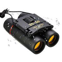 Mini 30x60 Fernglas Faltende Nachtsicht HD-Teleskop-Zoomoptik Outdoor Bird-Watch-Safari-Camping