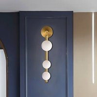 Artpad 조명 - 장식 벽 Sconces 빛 복도 욕실 TV 배경 골든 블랙 메탈 벽 거울 베니 티 라이트 G9에 대한