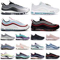 97 shoes zapatos para correr para mujer para hombre Triple blanco negro Sean Wotherspoon South Beach Light Blue 97s hombre zapatillas deportivas al aire libr
