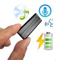 포켓 미니 오디오 레코더가있는 음성 활성화, 8GB 디지털 사운드 레코드에서 빌드 MP3 플레이어