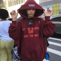 Marke Brief Männer Frauen Hoody Pullover Mode Hip Hop VETEMENTS PRINTEMPS ETE-Maxi-Hoodie Sweatshirts Größe S-2XL