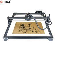 Stampanti 2021 V Slot Alumínium Profilo del profilo Laser Engraving e macchina da taglio con strumento di cnc acrilico 400 * 430mm