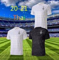 2020 2021 뮌헨 글라드바흐 홈 멀리 화이트 축구 유니폼 (20) (21) # 10 튀랑 # 14 A.PLEA 축구 셔츠 2019 VFL 보루시아 축구 유니폼 판매