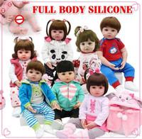 Vendita calda Full Body Silicone Auoia Auoia Toy Toy Reborn Reborn Toddler Bambola Bambina Bebe Bambola Reborn Lifelike Soft Touch Touy Giocattoli per bambini regalo