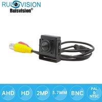 카메라 AHD 미니 카메라 HD5MP CCTV Sony IMX335 4 in 1 Security 홈 실내 감시 핀홀 렌즈 비디오
