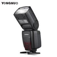 YONGNUO YN720 flash Speedlite sem fio flash principal Slave Speedlite GN60 Display LCD W / bateria para DSLR Camera