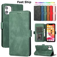 Luxury Flip Wallet Leather Case For iPhone 12 Mini 11 Pro XS Max XR X 6 6s 7 8 Plus SE 2020 Magnetic Cards Stand Designer Phone Cases Cover