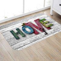 3D HOME Modern Printed Flannel Area Rug Letter Printed Room Area Rug Floor Carpet For Living Room Bedroom Home Decorative Pad
