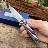 D2 스틸 칼날 알루미늄 합금 핸들 형 781 생명을 구하는 캠핑 접이식 칼 자기 방어 휴대용 접는 칼