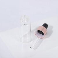 عطر البسيطة زجاج فيال واضح E السائل زجاجات الزيوت العطرية عينة اختبار القطارة أنبوب لE عصير E السائلة DHL شحن مجاني