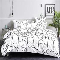 3pcs Bedding Cotton Sets 2020 Hot Sale Duvet Cover Bed Suits Quilt Cover Pillowcases King Size Luxury Bedding Supplies