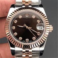 YY جديد أفضل بائع مشاهدة أفضل جودة الماس الحافة النساء غير القابل للصدأ الساعات أدنى سعر إمرأة السيدات التلقائي هدية المعصم الميكانيكية