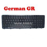 Teclado portátil de teclado para DV6-6000 634139-001 640436-001 665326-001 con marco negro FR / US / GR / CA / RU