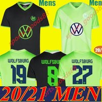 20 21 VfL Wolfsburg Fussball Trikots Weghorst ARNOLD 2020 2021 MALLI Brekalo Fußball-Hemd MEHMEDI Fußballhemd ROUSSILLON XAVER T-Shirt