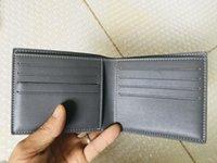 Diseñador de caja París París Pequeño estilo GY versión para hombre lienzo mejorado billetera recubierta mujer breve cuero de lujo múltiple con bifurd billets ge aphm