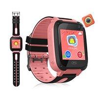 2020 Akıllı İzle İçin Çocuk S9 Çocuklar Akıllı Saatler Smartwatch LBS Tracker watchs SOS Çağrısı Android IOS En Hediye İçin Çocuk Anti-kayıp