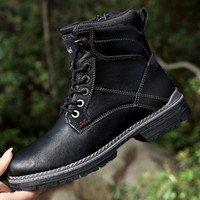 Winter men British Business Leisure Boot male tactical Speci...