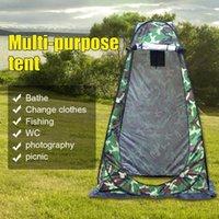Extérieur Tente à Camping Douche mouvement Confidentialité toilettes Changement Abri Chambre étanche simple mouvement pliant Tentes