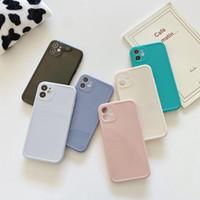 Alangduo Candy Color SE 2 مطاط سيليكون X 12 11 برو ماكس الهاتف لينة حالة الغطاء لآيفون 8 6 زائد XR XS