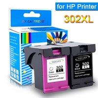 Cartucce d'inchiostro TopColor 302XL Cartuccia Sostituire per 302 Ricarica Deskjet 1110 2130 2133 4526 3637 5230 5232 1112 Stampante