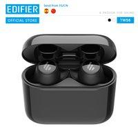 EDIFIER 6 Qualcomm aptX Bluetooth V5.0 wireless charging tap control IPX5 Waterproof wireless earphone up to 32hr