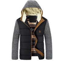 Winter Men Jacket Outwear Windproof Hooded Coat Thicken Warm...